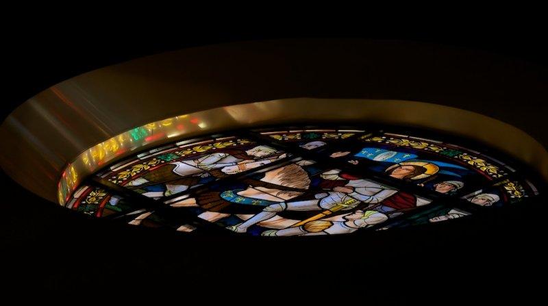 Morning reflections at St, Katherine Drexel Parish.