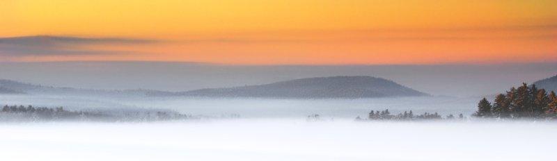 Wolfeboro bay at sunrise