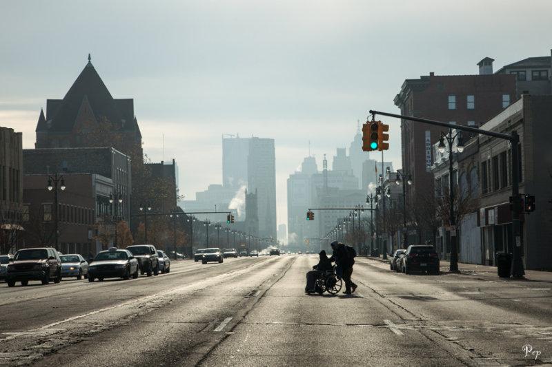 Cruising Woodward Avenue