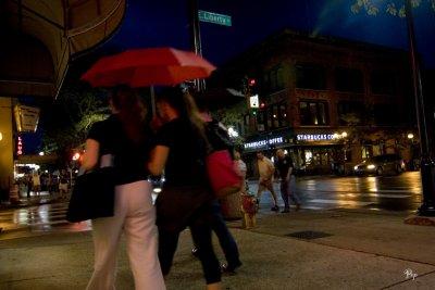 Aug. 24, 2006 - Rainy night in Ann Arbor