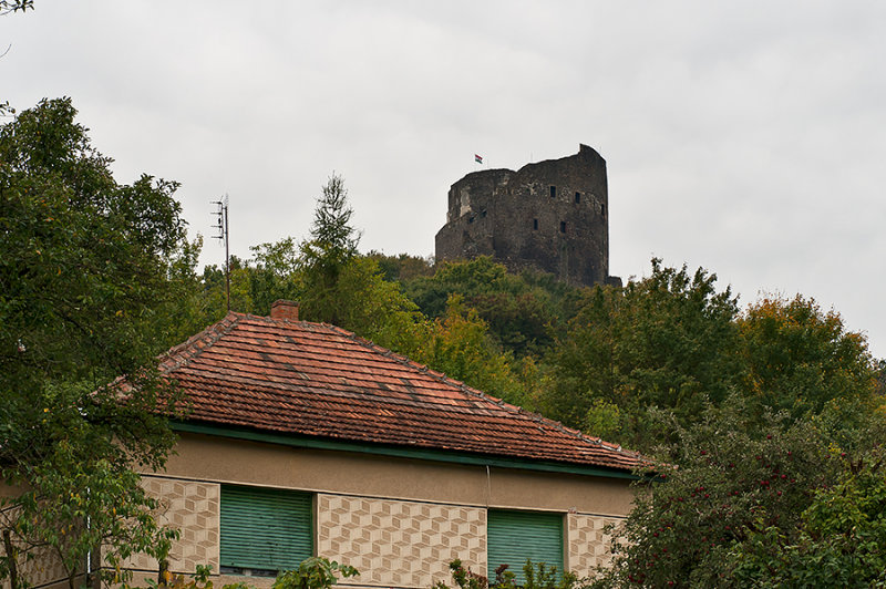 Castle Ruins On The Hill
