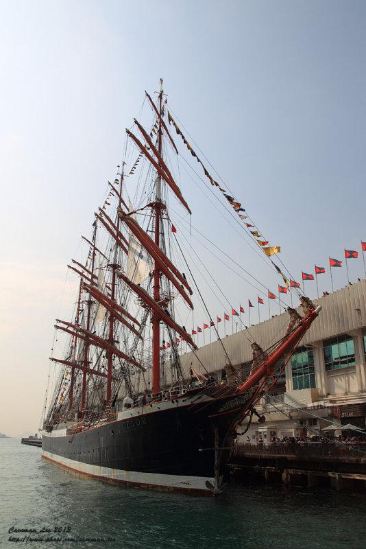 Old Russian ship Sedov