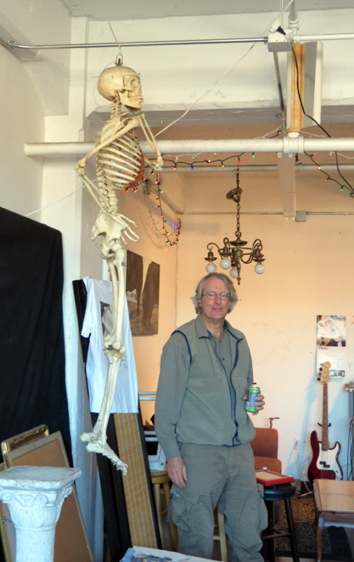 Peter with Skeleton