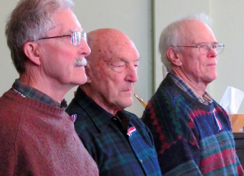 Three Veterans