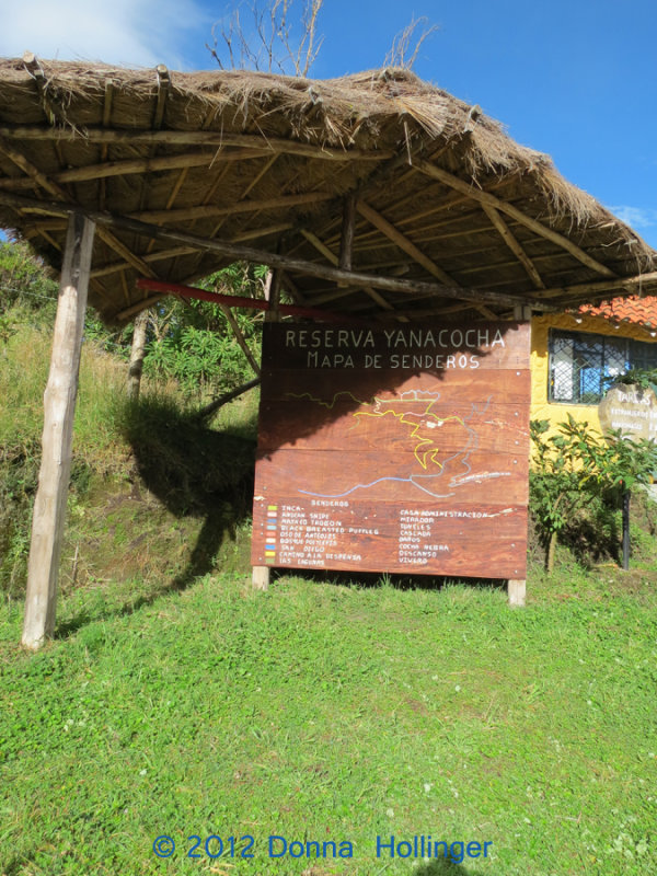 Welcome to Yanacocha Reserve
