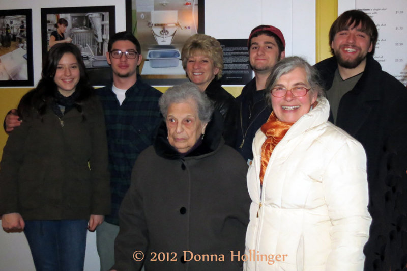 Madison, JonCarlo, Dora, Nancy, Domenic, Anni, and Jared