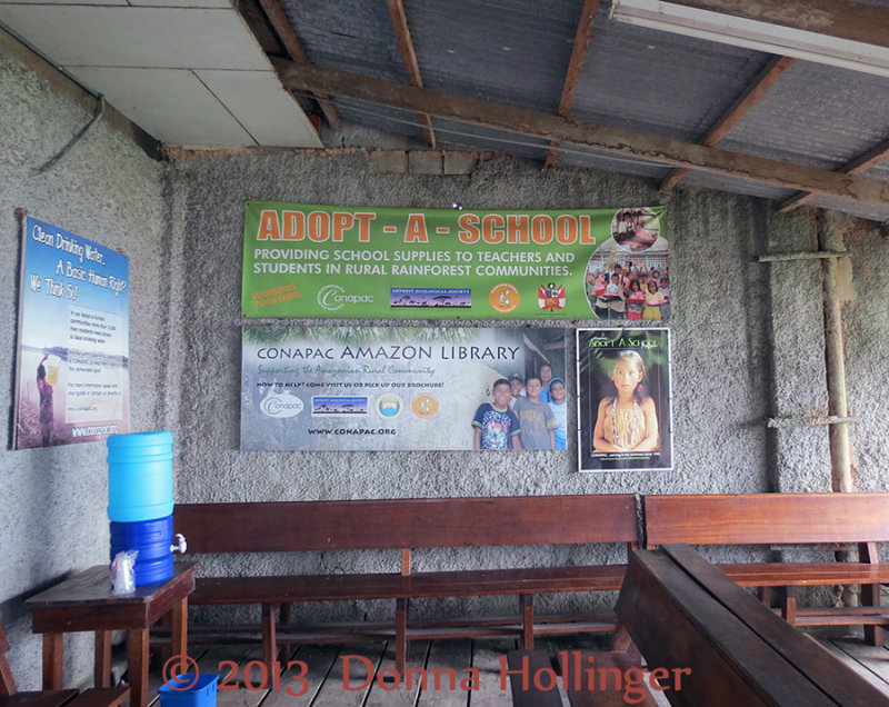 Conpac Poster that Funds Schools in the Region
