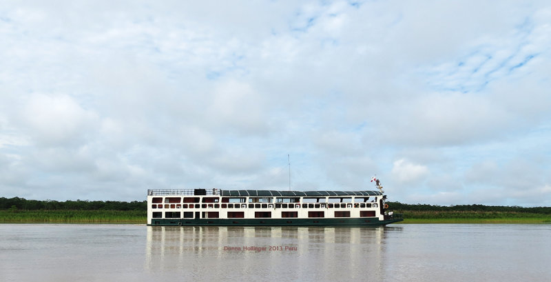 Our Amazonian Riverboat, The Aquamarina