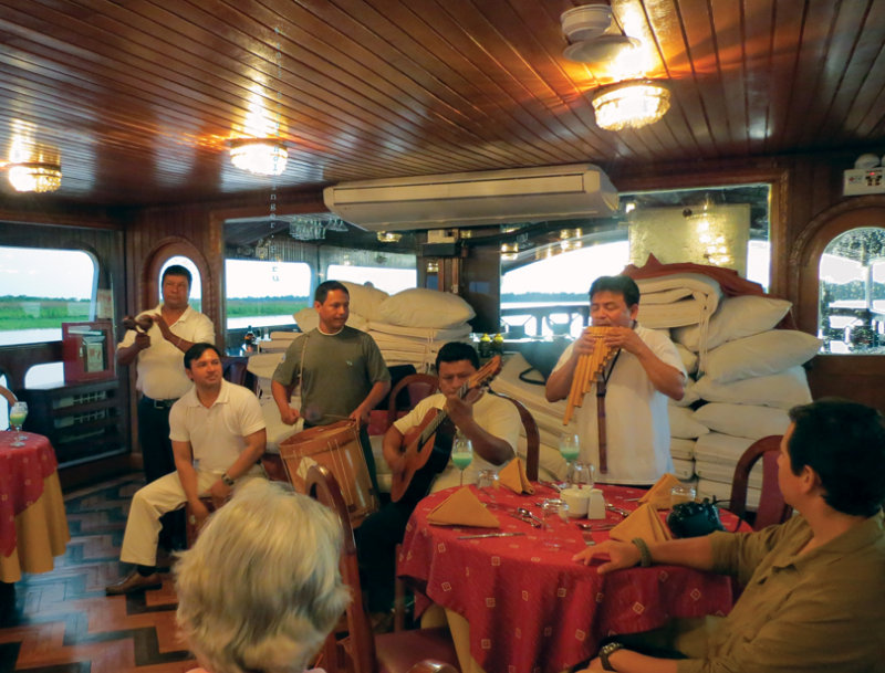 Band:  Segundo, Victor, John and crew members