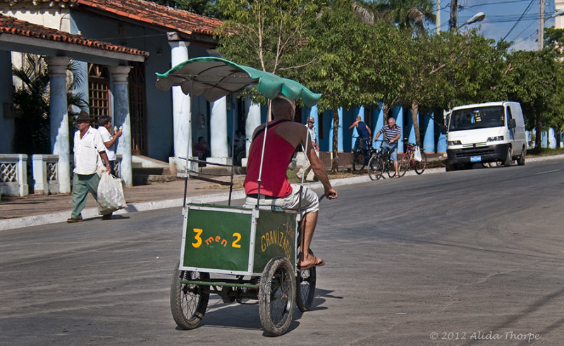 water ice cart