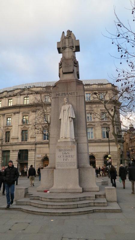 WW1  Edith  Cavell  Memorial.