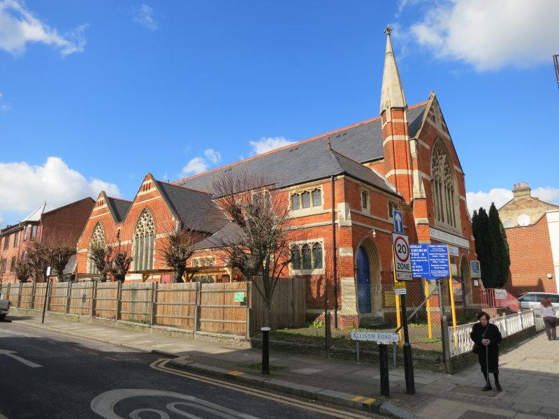 Harringey  United  Church - Baptist.