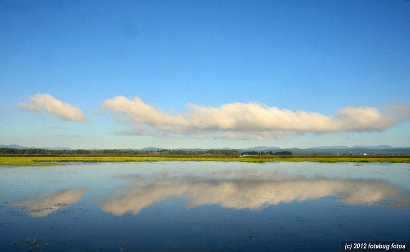 Clouds Over Fern Ridge Lake