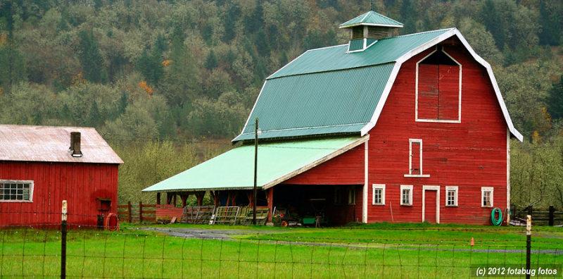 Barn in Mohawk Valley