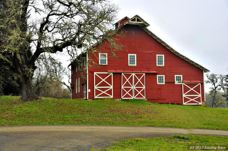 Historic Barn - William L Finley National Wildlife Refuge