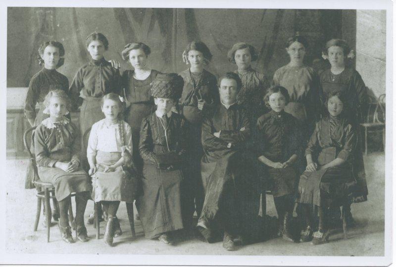 a Rohatyn school photo from 1912...
