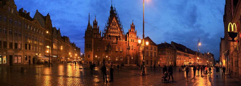 Wroclaw,city hall,Poland