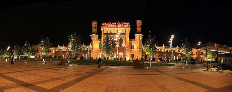 Wroclaw,train station,Poland