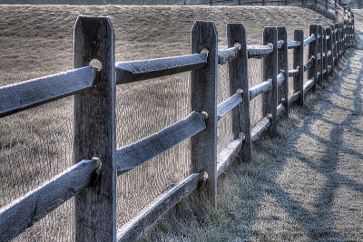 Frosty Fence at Knox