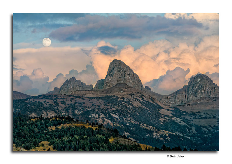 Moonrise, Teton Range