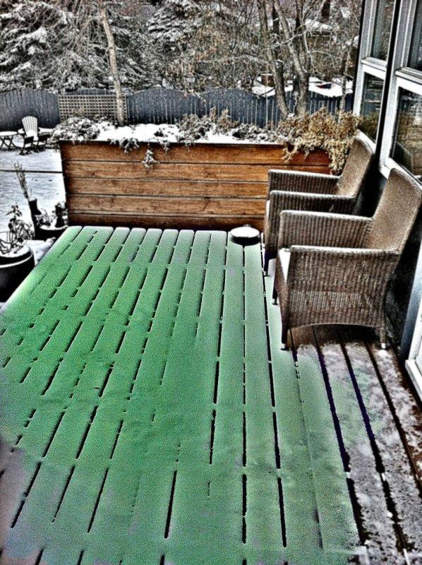 St Paddys Snow