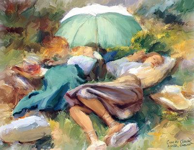Siesta By John Singer Sargent