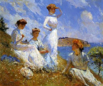 Summer 1907 By Frank Benson