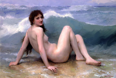 The Wave By William Bouguereau