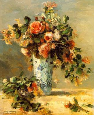 The Delft Vase By Renoir