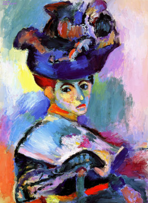 Madame Matisse By Matisse