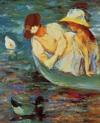 Summertme By Mary Cassatt