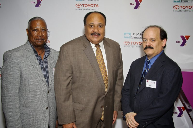 Martin Luther King III and Marc Gagnon