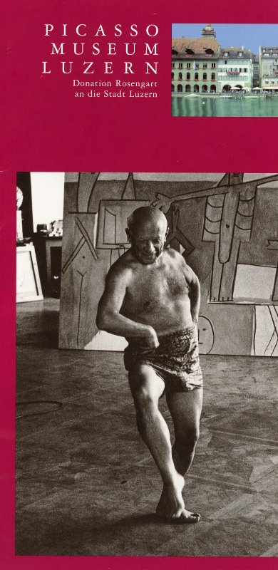 While in Lucerne, I stopped in at the Picasso Museum.  It has more photographs of the artist than it has paintings by him.