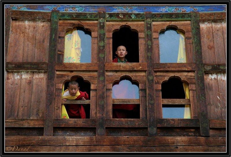 Wangduchoeling Palace. (Central Bhutan).