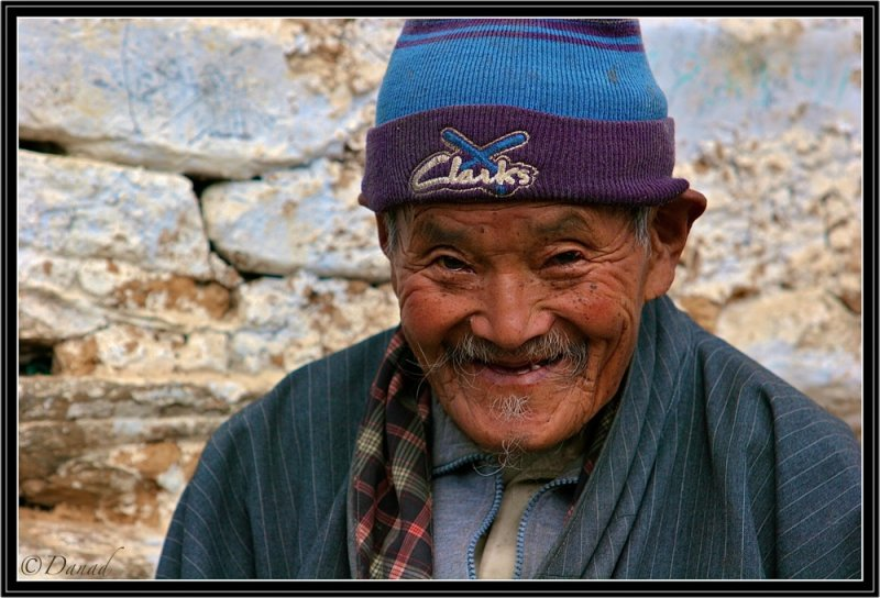 An Old Mountaineer (Trongsa district).