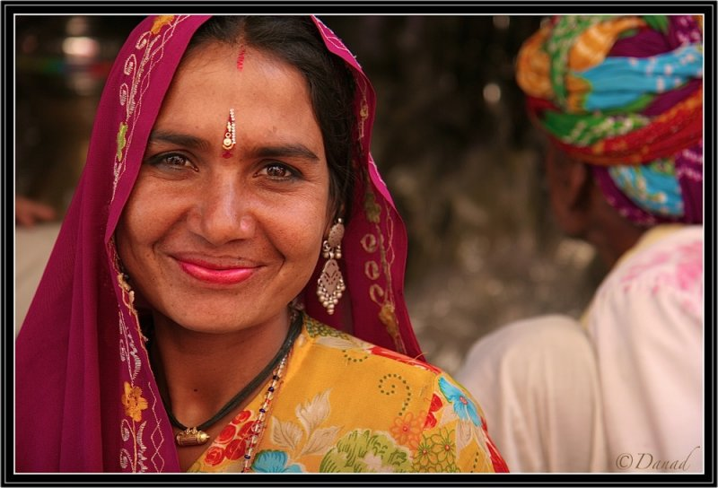 A Beauty in the Bazaar. Bundi.