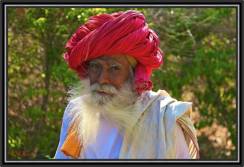 Portrait of a Sage Rajput. Ranakpur.