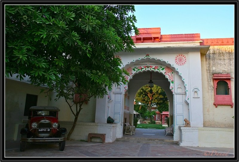 Main Gate of Jojawar Fort.