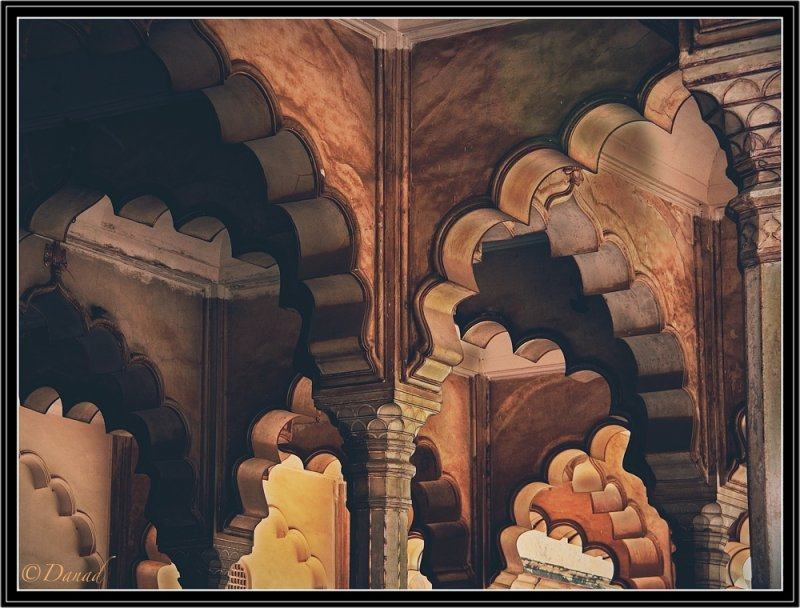 Arabesques Red Fort - Agra.
