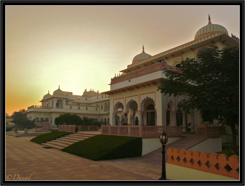 Bharatpur Maharajahs Palace.