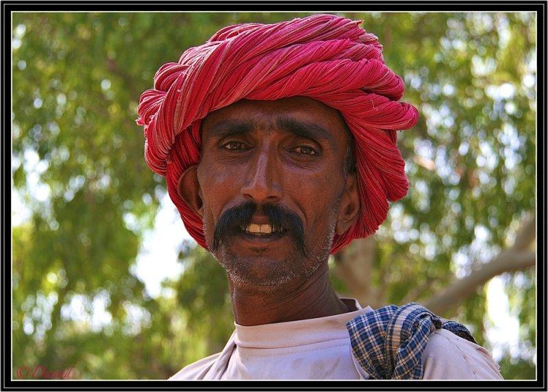 A Rebari (Shepherd) - Ranakpur.