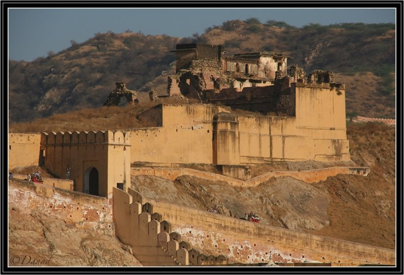 Amber : Part of the Fort and Citadel.