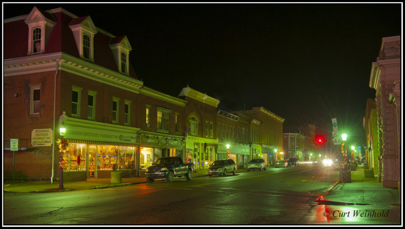 S. Main Street business section