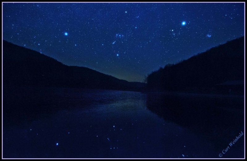 A starry nite at Lyman Lake