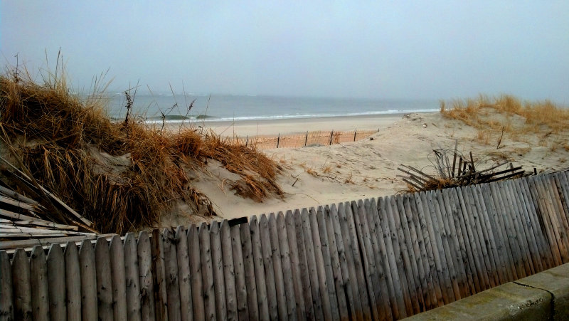 Point Lookout two months after Sandy