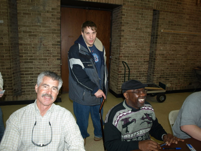 Bill Buckner and Mookie Wilson with my son Bob