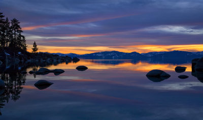 Just Another Sand Harbor Sunset.