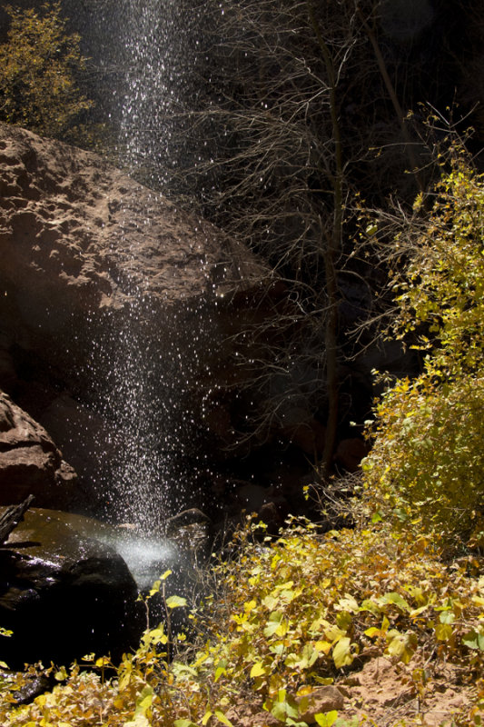 Sinawava falls