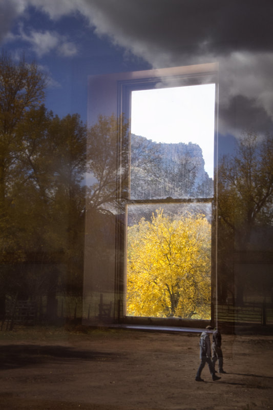 Window to real world