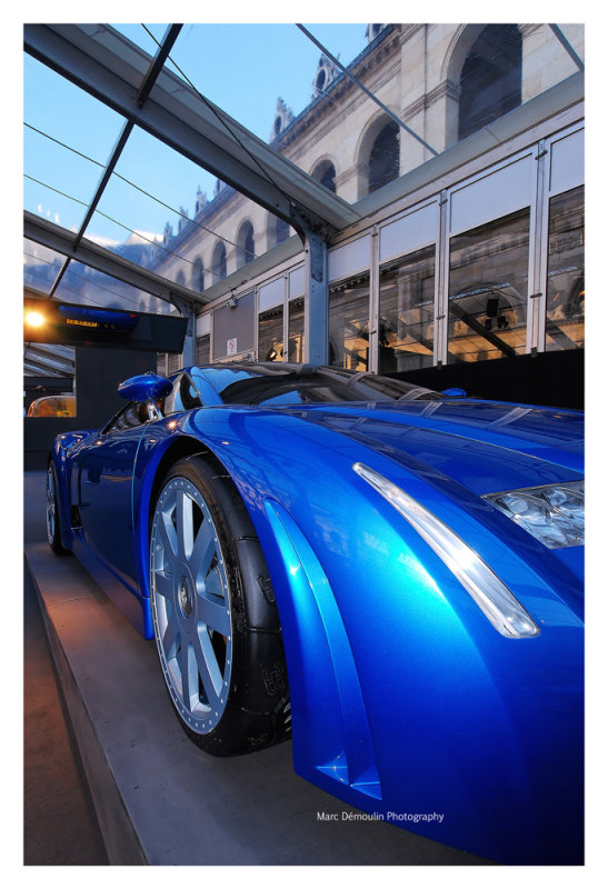 Bugatti Chiron, Paris 2008